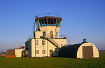 AF5GN8 Control tower former Bentwaters USA airbase Rendlesham Suffolk England