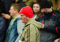 Lincoln City fans during the game<br /> <br /> Photographer Andrew Vaughan/CameraSport<br /> <br /> Buildbase FA Trophy Semi Final Second Leg - Lincoln City v York City - Saturday 18th March 2017 - Sincil Bank - Lincoln<br />  <br /> World Copyright &copy; 2017 CameraSport. All rights reserved. 43 Linden Ave. Countesthorpe. Leicester. England. LE8 5PG - Tel: +44 (0) 116 277 4147 - admin@camerasport.com - www.camerasport.com