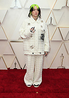 09 February 2020 - Hollywood, California - Billie Eilish. 92nd Annual Academy Awards presented by the Academy of Motion Picture Arts and Sciences held at Hollywood & Highland Center. Photo Credit: AdMedia