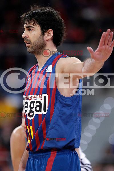 FC Barcelona Regal's Juan Carlos Navarro during Spanish Basketball King's Cup match.February 07,2013. (ALTERPHOTOS/Acero) /Nortephoto