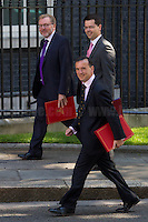 David Mundell MP (Secretary of State for Scotland), James Brokenshire MP (Secretary of State for Northern Ireland) & Alun Cairns MP (Secretary of State for Wales).<br />