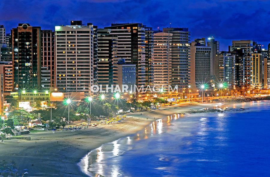 Praia  de Iracema em Fortaleza. Ceará. 2009. Foto de Ricardo Azoury.