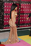 LOS ANGELES, CA - AUGUST 30: Rapper Nicki Minaj arrives at the 2015 MTV Video Music Awards at Microsoft Theater on August 30, 2015 in Los Angeles, California.