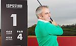 ISPS Handa Wales Open Announcement at the Celtic Manor Resort..Former Wales Open winner Paul McGinley launches the ISPS Handa Wales Open at The Celtic Manor Resort.28.11.11.©Steve Pope