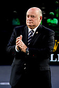 5th November 2017, Paris, France. Rolex Masters mens tennis doubles tournament final;  Bernard Giudicelli - president FFT