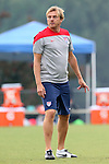 18 August 2014: Assistant coach Tony Gustafsson (SWE). The United States Women's National Team held a training session on Field 4 at WakeMed Soccer Park in Cary, North Carolina.