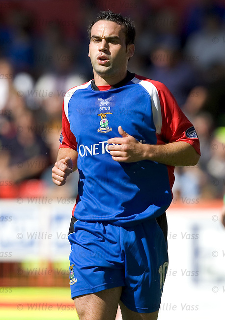 Richie Hart, Inverness Caledonian Thistle.stock season 2004-2005.pic willie vass