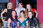 Christina Buckley Gneeveguilla celebrated her 40 birthday with her pals on Womens Christmas in Scotts bar on Saturday night front row l-r: Kathleen Lehane, Christina Buckley and Maureen Lynch. Back row: Breda Loughlin, Catriona Lynch, Rachel buckley