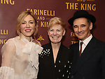 Juliet Rylance, Claire Van Kampen and Mark Rylance attends the Broadway Opening Night performance After Party for 'Farinelli and the King' at The Belasco Theatre on December 17, 2017 in New York City.