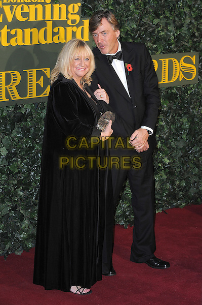 LONDON, ENGLAND - NOVEMBER 13: Judy Finnigan and Richard Madeley attend The London Evening Standard Theatre Awards at The Old Vic Theatre on November 13, 2016 in London, England.<br /> CAP/BEL<br /> &copy;BEL/Capital Pictures