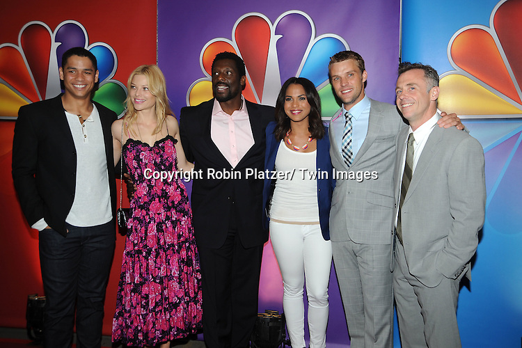 """Chicago Fire""  cast attends the NBC Upfront Presentation of 2012-2013 Season at Radio City Music Hall on May 14, 2012 in New York City."
