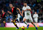 Marco Asensio Willemsen of Real Madrid runs with the ball during the La Liga 2018-19 match between Real Madrid and Rayo Vallencano at Estadio Santiago Bernabeu on December 15 2018 in Madrid, Spain. Photo by Diego Souto / Power Sport Images