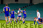 Bryan Sheehan Saint Marys in action against Eamonn Wallace Ratoath in the Semi Final of the Intermediate Club Championship at the Gaelic Grounds in Limerick on Sunday.