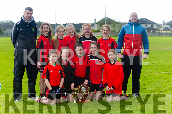 Allianz Cumann na mBunscol  Schools Mini Sevens County finals at Caherslee GAA Ground  on Monday winners Fossa Girls