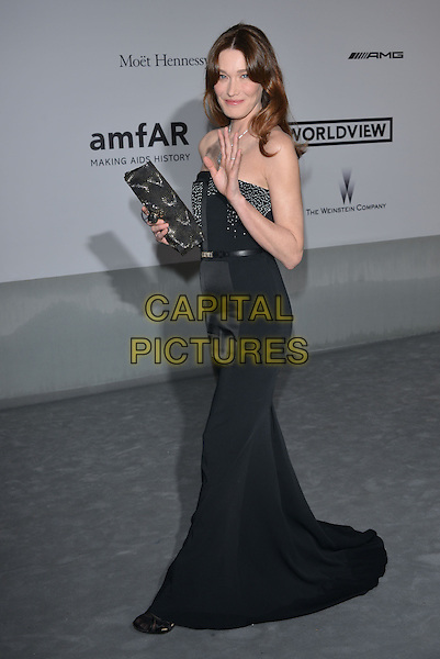 CAP D'ANTIBES, FRANCE - MAY 22: Carla Bruni-Sarkozy attends amfAR's 21st Cinema Against AIDS Gala at Hotel du Cap-Eden-Roc on May 22, 2014 in Cap d'Antibes, France. <br /> CAP/PL<br /> &copy;Phil Loftus/Capital Pictures