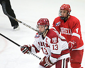 Michael Del Mauro (Harvard - 13), Keir Ross (Cornell - 4) - The visiting Cornell University Big Red defeated the Harvard University Crimson 2-1 on Saturday, January 29, 2011, at Bright Hockey Center in Cambridge, Massachusetts.