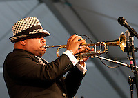 Jazz Fest 2009, Day 4.  Nicholas Payton's set was much more subdued than usual?