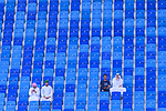 Soccer fans during the AFC Asian Cup UAE 2019 Group A match between Bahrain (BHR) and Thailand (THA) at Al Maktoum Stadium on 10 January 2019 in Dubai, United Arab Emirates. Photo by Marcio Rodrigo Machado / Power Sport Images
