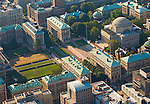 Aerial view of City College, Bronx NY