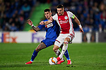 Dusan Tadic of AFC Ajax during UEFA Europa League match between Getafe CF and AFC Ajax at Coliseum Alfonso Perez in Getafe, Spain. February 20, 2020. (ALTERPHOTOS/A. Perez Meca)