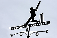 Grey skies behind the weather vane during Essex CCC vs Somerset CCC, Specsavers County Championship Division 1 Cricket at The Cloudfm County Ground on 30th August 2017