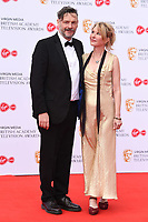 Julian Barrett and Julia Davis<br /> arriving for the BAFTA TV Awards 2019 at the Royal Festival Hall, London<br /> <br /> ©Ash Knotek  D3501  12/05/2019