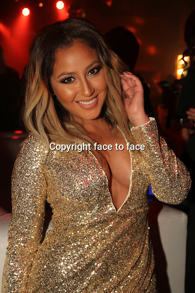 HOLLYWOOD, CA - JANUARY 24: Adrienne Bailon attends the OK! Magazine pre-Grammy party at Lure Nightclub on January 24, 2014 in Hollywood, California. Credit: RTNGoshorn/MediaPunch<br /> Credit: MediaPunch/face to face<br /> - Germany, Austria, Switzerland, Eastern Europe, Australia, UK, USA, Taiwan, Singapore, China, Malaysia, Thailand, Sweden, Estonia, Latvia and Lithuania rights only -