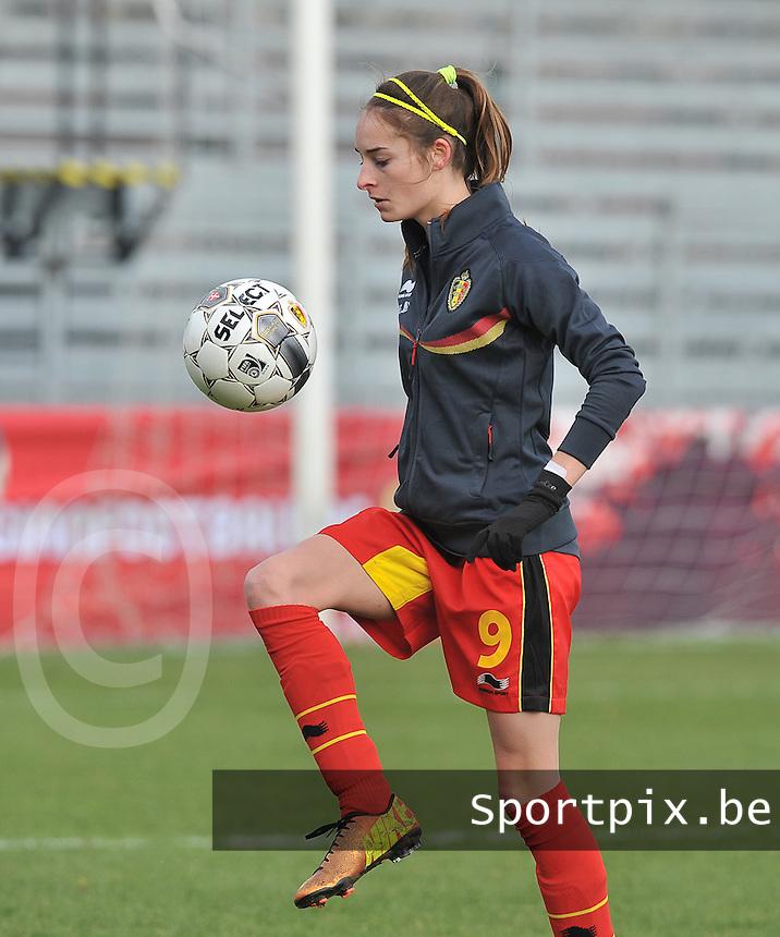 Belgium - The Netherlands : Tessa Wullaert.foto DAVID CATRY / Vrouwenteam.be