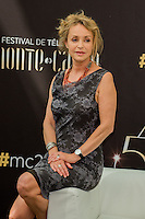 Fanny Cottençon attends the 54th Monte-Carlo Television Festival opening Ceremony - Monaco