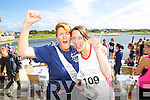 Mary Bowler and Laraine O'donnell pictured at the Rose of Tralee International 10k Race in Tralee on Sunday.