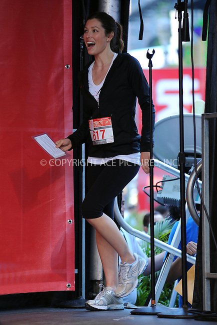 WWW.ACEPIXS.COM . . . . . ....May 1 2010, New York City....Jessica Biel at the 13th Annual Entertainment Industry Foundation Revlon Run/Walk For Women in Times Square on May 1, 2010 in New York City....Please byline: KRISTIN CALLAHAN - ACEPIXS.COM.. . . . . . ..Ace Pictures, Inc:  ..(212) 243-8787 or (646) 679 0430..e-mail: picturedesk@acepixs.com..web: http://www.acepixs.com