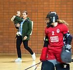 Almere - Zaalhockey Amsterdam-Den Bosch (v)  .  coach Rick Mathijssen (A'dam) TopsportCentrum Almere.    COPYRIGHT KOEN SUYK