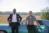 Green Book (2018) <br /> Viggo Mortensen &amp; Mahershala Ali<br /> *Filmstill - Editorial Use Only*<br /> CAP/MFS<br /> Image supplied by Capital Pictures