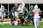 Texas Longhorns wide receiver Jake Oliver (86) in action during the game between the Texas Longhorns and the Baylor Bears at the McLane Stadium in Waco, Texas.