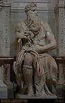 Moses Michelangelo Buonarroti 1515 Tomb of Julius II San Pietro in Vincoli Rome