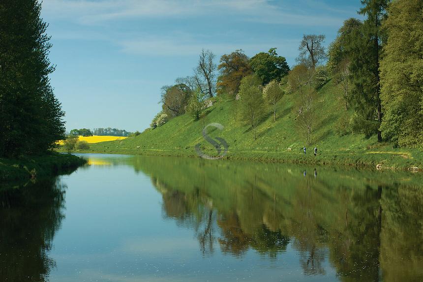 The River Teviot near Kelso, Scottish Borders
