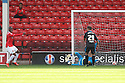 Romaine Sawyers of Walsall opens the scoring<br />  - Walsall v Stevenage - Sky Bet League One - Banks's Stadium, Walsall - 19th October 2013. <br /> © Kevin Coleman 2013