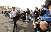 Everton manager Marco Silva arrives ahead of kick-off at Turf Moor<br /> <br /> Photographer Rich Linley/CameraSport<br /> <br /> The Premier League - Burnley v Everton - Saturday 5th October 2019 - Turf Moor - Burnley<br /> <br /> World Copyright © 2019 CameraSport. All rights reserved. 43 Linden Ave. Countesthorpe. Leicester. England. LE8 5PG - Tel: +44 (0) 116 277 4147 - admin@camerasport.com - www.camerasport.com