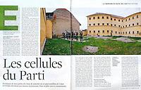 Télérama (French main  magazine about culture)..2006/11/29..Former politic prison in North Romania (Sighet)..Photos: Dinu Lazar