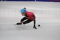 SHORT TRACK: DORDRECHT: Sportboulevard, 14-02-2016, ISU World Cup Short Track Final 2015/2016, Torsten Kroeger (#31), ©photo Martin de Jong