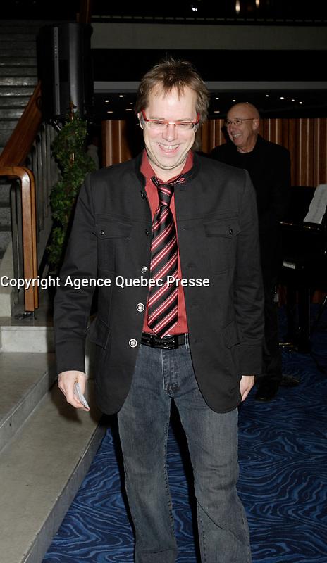 Montreal (Qc) CANADA - Jan 15 2009- - Denis Bouchard