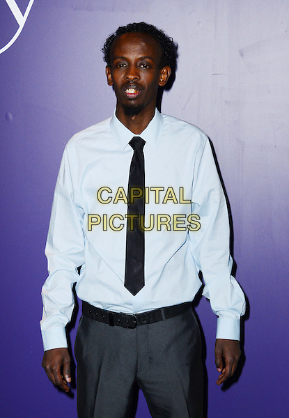 LONDON, ENGLAND - FEBRUARY 15: Barkhad Abdi attends EE British Academy Film Awards (BAFTAs) nominees party at Asprey London, 167 New Bond Street, on February 15, 2014, in London, England.  <br /> CAP/JOR<br /> &copy;Nils Jorgensen/Capital Pictures