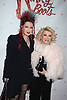 "Cyndi Lauper and Joan Rivers arrives at the ""Kinky Boots"" Broadway Opening on April 4, 2013 at The Al Hirschfeld Theatre in New York City. Harvey Fierstein wrote is the Book Writer and Cnydi Lauper is the Composer."