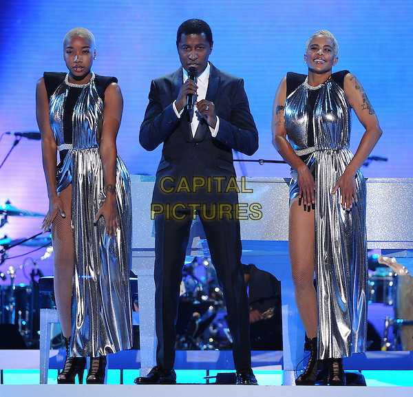 LAS VEGAS, NV - NOVEMBER 6: Kenny 'Babyface' Edmonds performs the 2015 Soul Train Awards at the Orleans Arena on November 6, 2015 in Las Vegas, Nevada.  <br /> CAP/MPI/PGFM<br /> &copy;PGFM/MPI/Capital Pictures