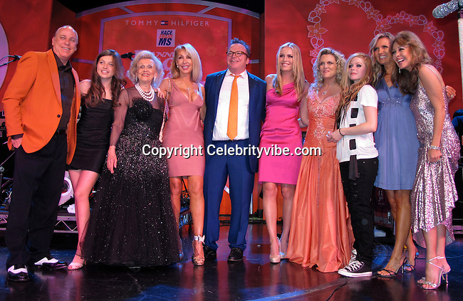 Guest, Guest, Barbara Davis, Linda Thompson, Tom Arnold, Lindsey Vonn, Nancy Davis, Avril Lavigne, guest and guest.Race to Erase MS Hosted by Nancy Davis – Inside..Hyatt Regency Century Plaza Hotel..Century City, CA, USA..Friday, May 07, 2010..Photo By CelebrityVibe.com.To license this image please call (212) 410 5354; or Email: CelebrityVibe@gmail.com ; .website: www.CelebrityVibe.com.