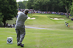 Darren Clarke (NIR) tees off on the par3 2nd tee during the Final Day of the BMW PGA Championship Championship at, Wentworth Club, Surrey, England, 29th May 2011. (Photo Eoin Clarke/Golffile 2011)