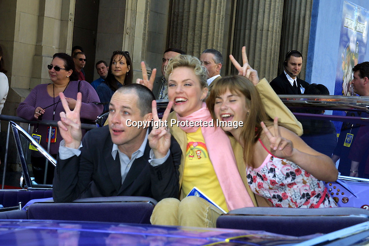 ©2003 KATHY HUTCHINS / HUTCHINS PHOTO.INSPECTOR GADGET 2.SCREENING OF DVD AND VIDEO RELEASE.MARCH 8, 2003.HOLLYWOOD, CA..FRENCH STEWART.ELAINE HENDRIX.CAITLIN WACHS