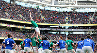 Sunday10th March 2019 | Ireland vs France<br /> <br /> Peter O&rsquo;Mahony during the Guinness 6 Nations clash between Ireland and France at the Aviva Stadium, Lansdowne Road, Dublin, Ireland. Photo by John Dickson / DICKSONDIGITAL