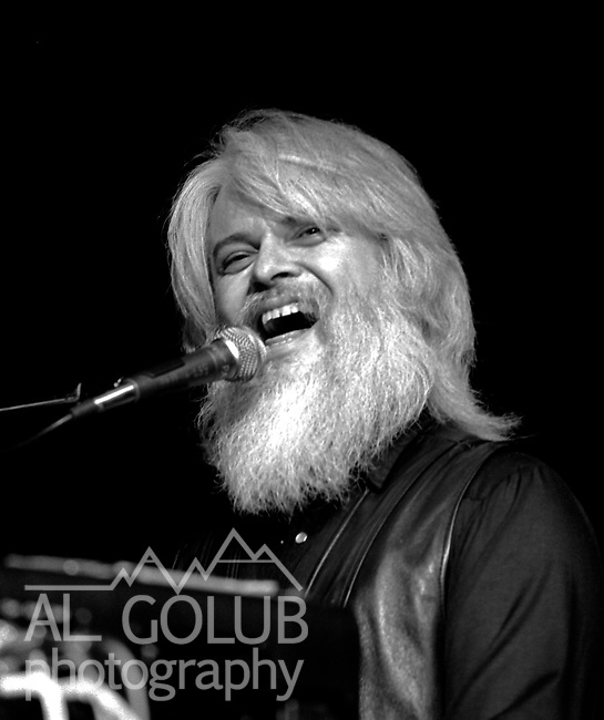Modesto California Leon Russell played in Modesto March 2, 1981  Photo by Al Golub