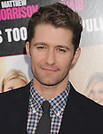 HOLLYWOOD, CA - MAY 14: Matthew Morrison attends the Los Angeles premiere of 'What To Expect When You're Expecting' at Grauman's Chinese Theatre on May 14, 2012 in Hollywood, California.
